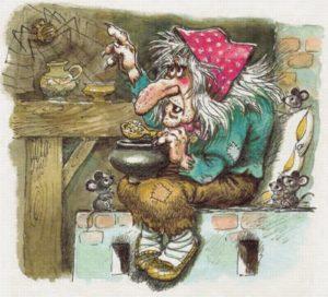 """сказка для детей """"Баба-Яга"""""""